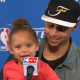 VIDEO Riley Curry Returns To The Podium To Steal The Show!