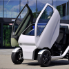 El auto 'cangrejo' conduce de lado y se estaciona en espacios diminutos