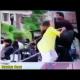 Una madre saca a golpes a su hijo de los disturbios de Baltimore (Video, Foto)