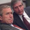 Publican imágenes inéditas de la primera reacción de George Bush a los atentados del 11S