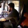 VIDEO: Un camionero juega con su móvil minutos antes de causar la muerte de una mujer