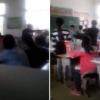 video: alumna fue agredida salvajemente por profesor en aula