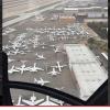 Los aviones privado de lo ricos que fueron aver la pelea de Mayweather/Pacquiao Fight G-5 Traffic Jam
