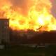 Video tremenda explocion Massive Fireball From Chemical Plant Explosion
