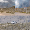 Estraterrestres Misterio en el Área 51: Turistas filman una densa nube de humo con forma de hongo (Video)
