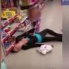 VIDEO Madre sufre sobredosis de heroína junto a su hija
