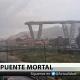 VIDEO El mortal derrumbe del puente de una autopista en Génova