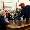 VIDEOS: Kanye West revela su contraseña de iPhone durante el encuentro con Trump y la Red explota