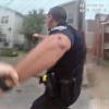 VIDEO FUERTE Policia le dispara a sospechoso EN Baltimore Police Officers Get Into A Shootout With A Suspec