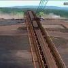 El momento en que colapsa el dique de #Brasil que dejó más de cien #muertos