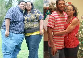 pareja pierde 150 kilos