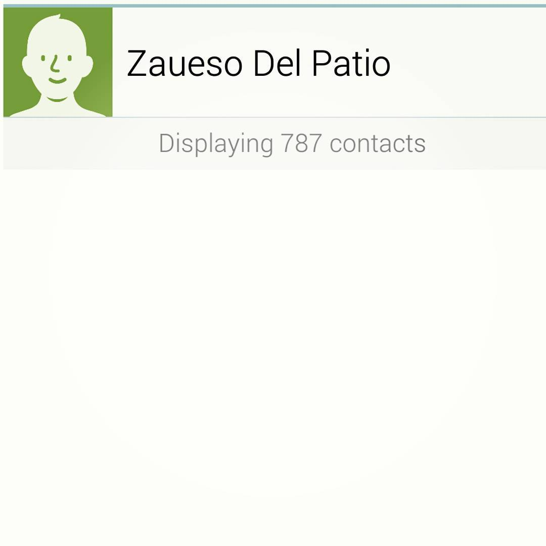 JOJO 787 Contactos Bulto