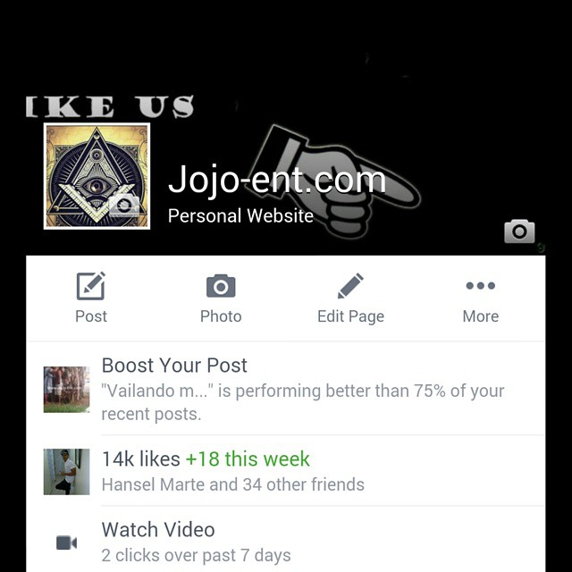 Like us on #Facebook Jojo-ent.com 14k Delen like mmgs JOJO…