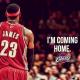 """Lebron james decide dejar Miami Heat y regresar a su antiguo equipo """"Clevelands"""" R.I.P Miami"""