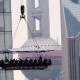China: abren un restaurante colgante entre rascacielos me pregunto esta jente estan loco miren