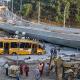 Mundial Cae viaducto construido para el Mundial miren todo lo ocurrido