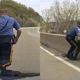 Video Un policía salva a un hombre que se quería suicidar