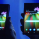 VIDEO : Samsung presenta un revolucionario móvil con una pantalla plegable e irrompible