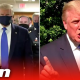 #DonaldTrump wears #mask in public for the first time and defends Stone decision